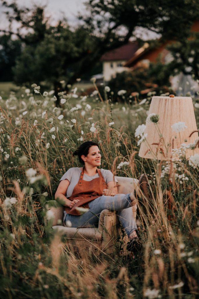 Meisterfloristin Sandra Merhaut - Foto: Lisa Jungmann